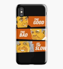 The Good the Bad and the Slow iPhone Case/Skin