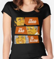 The Good the Bad and the Slow Women's Fitted Scoop T-Shirt
