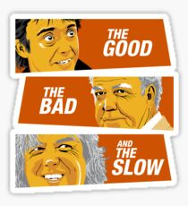 The Good the Bad and the Slow Sticker