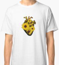 Summer Sunflower Heart  Classic T-Shirt