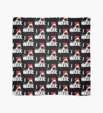 I Love The Week Of Sharks Cute Novelty Gift Idea For Shark Lovers Graphic Shark Bite Scarf