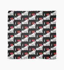 I Love The Week Of Sharks Epic Novelty Gift Idea For Shark Lovers Graphic Shark Bite Scarf