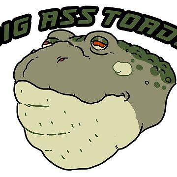BIG ASS TOADS by GraceGogarty