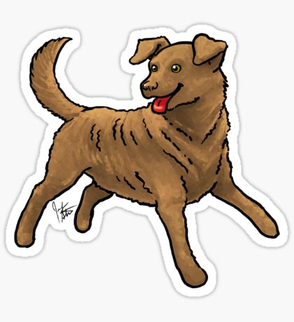 Chesapeake Bay Retriever Glossy Sticker