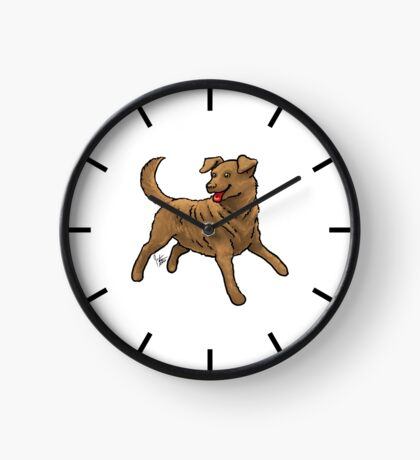 Chesapeake Bay Retriever Clock