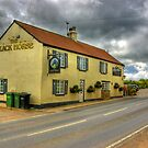 The Black Horse - Ainderby Quernhow by Trevor Kersley