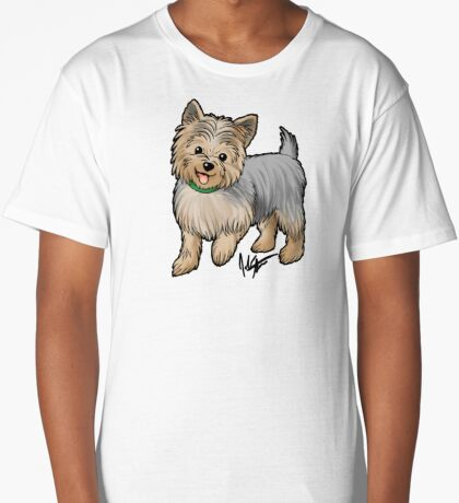 Yorkshire Terrier Long T-Shirt