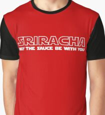Sriracha May The Sauce Be With You Graphic T-Shirt