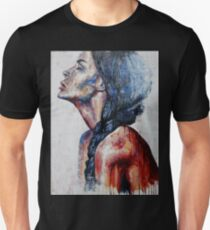Woman - Red profile Unisex T-Shirt