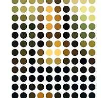 As Spots (Mona Lisa) by AbstractGraphic