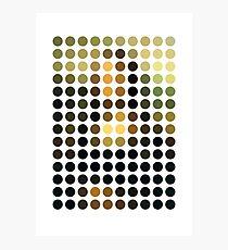 As Spots (Mona Lisa) Fotodruck