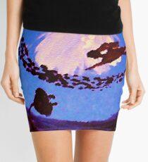 The diver, watercolor Mini Skirt