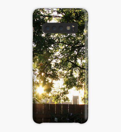 Sommer Sonnenaufgang Hülle & Klebefolie für Samsung Galaxy