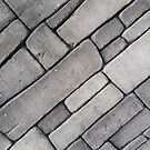 Paved Wall in Grey by stace8383