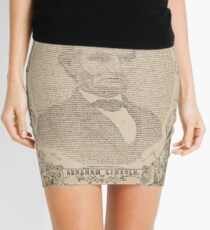 Swander Bishop & Co. copy of the Emancipation Proclamation Mini Skirt