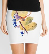 White Crowned Sparrow Mini Skirt