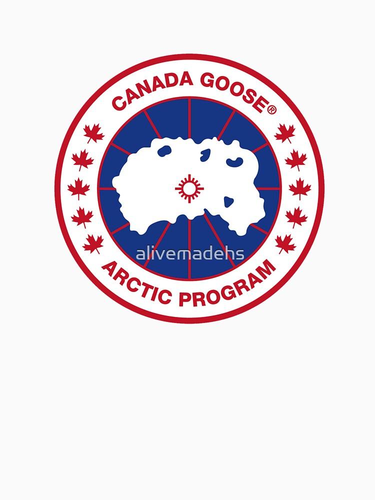 Prendas de abrigo Canadá ganso de alivemadehs
