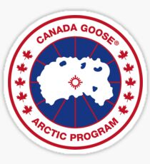 Outerwear Canada goose Sticker