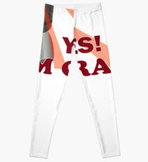 yes, I am crazy gift t-shirt Comical Funny apparel Robots, eye lights Leggings