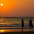 Goan sunset by Tim Lawes