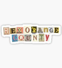 Rex Orange County Sticker