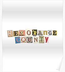 Rex Orange County Poster