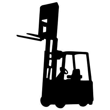 forklift forklift Fork lift truck by huggymauve