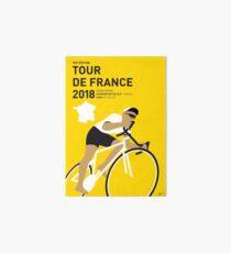 MY TOUR DE FRANCE MINIMAL POSTER 2018 Art Board