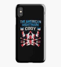 THE AMERICAN NIGHTMARE iPhone Case