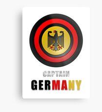 CAPTAIN GERMANY Metal Print