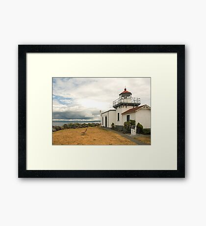Point No Point Framed Print