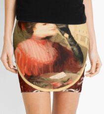 Posters  Love of the drink  Enhanced re production Mini Skirt