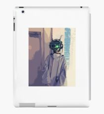 Cyberpunk Goggles Girl iPad Case/Skin