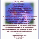 MEMORIAL CARD ~ UNCLE THEO by artist4peace