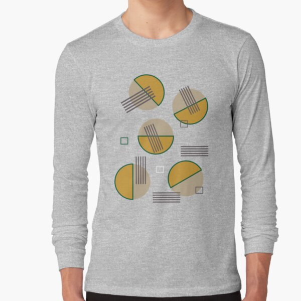 Abstract Composition 09 Long Sleeve T-Shirt