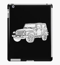 Jeep - White iPad Case/Skin