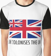 UK Colonises The UK Graphic T-Shirt