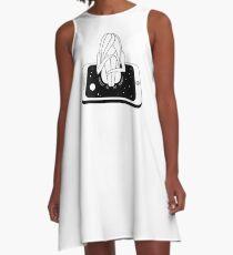 Internet Addiction A-Line Dress
