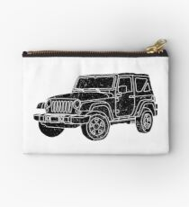 Jeep - Black Studio Pouch