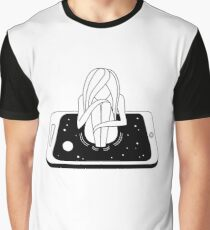 Internet Addiction Graphic T-Shirt