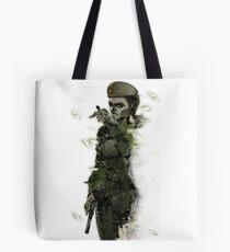 Caveira Rainbow 6 Metal Gear Solid Tote Bag