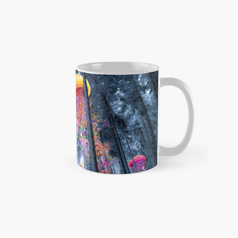 New Winter Forest of Electric Jellyfish Worlds  Mugs