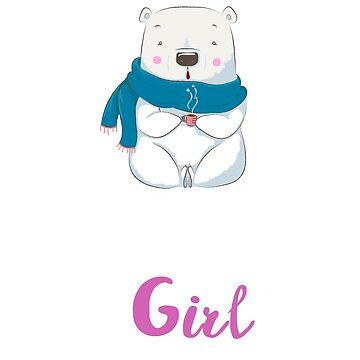 Birthday gift Girl cute bear by omar77