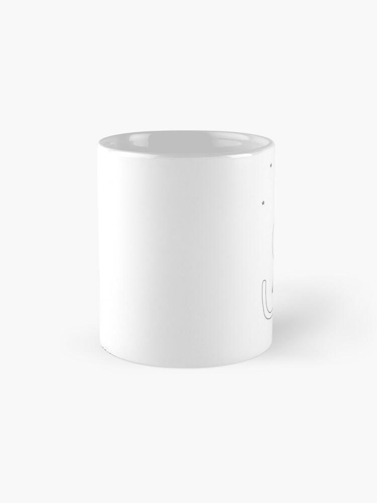 Alternate view of Space Cat Mug