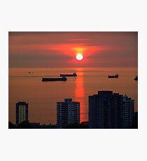 English Bay, Vancouver Photographic Print