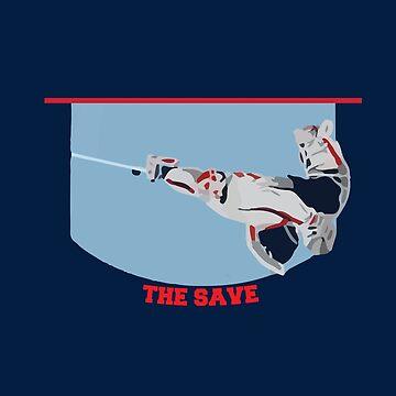 Washington Capitals - The Save 2  by mymainmandeebo