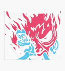 CyblueDEMON Wall Tapestry