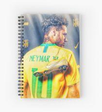 Neymar Golden Glow Spiralblock