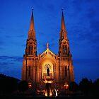 Ste Anne de Beaupré Church Illumination by Poete100