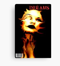 DREAMS COVER Canvas Print